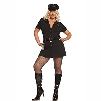 Elegant Moments Women's Plus-Size Officer Arrest Me-Plus