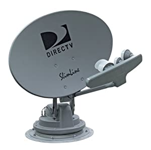 Winegard SK-3005 TRAV'LER Gray DIRECTV Slimline KA/KU Multi-Satellite TV Antenna