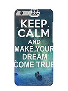 Nukkads 3D Designer Printed Back Cover for Micromax Canvas Knight 2(E471)