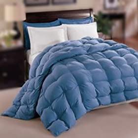 Allergy -Shield s TM Luxurious Down Alternative Comforter,Blue