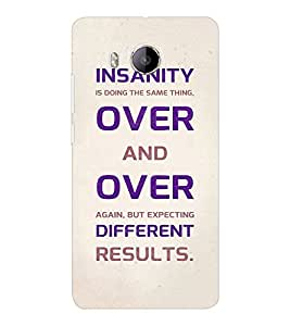 EPICCASE Insanity Mobile Back Case Cover For VIVO X shot (Designer Case)