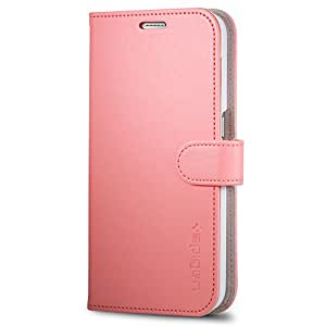 Galaxy S6 Case, Spigen® [Wallet S] Stand Feature [Pink] Premium Wallet Case with STAND Flip Cover for Galaxy S6 (2015) - Pink (SGP11341)