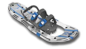 Yukon Charlies 825 Sherpa Series Snowshoe, Silver/Blue