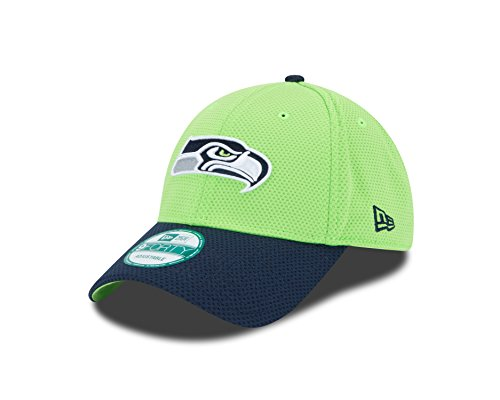 NFL Seattle Seahawks Fundamental Tech 2 9forty Adjustable Cap, Green, One Size (Custom Seahawks Hat compare prices)
