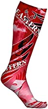 Eastern Washington University Eagles Socks Trailblazer Design pair