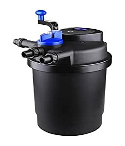 Sun grech cpf pond bio pressure filter cpf for Best pond pressure filter