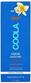 Coola Classic Sport SPF 45 Sunscreen Mango 5 Ounce