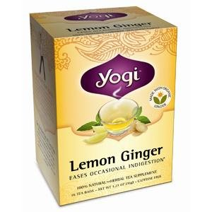 Yogi Tea Lemon Ginger Organic Caffeine Free - 16 Tea Bags (Image May Vary)