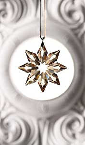 Swarovski Crystal 2013 SCS Gold Little Star Ornament