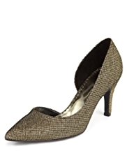 Per Una Pointed Toe Court Shoes with Insolia®
