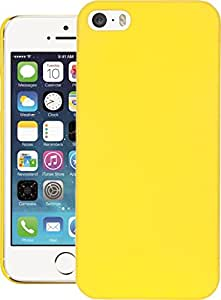 iPhone 5s Case, QUICKSAND [Extra Slim Fit] Hybrid rubberized Protective Hard Case for Apple iPhone 5s Yellow