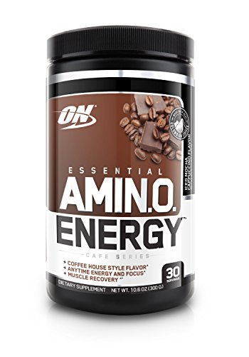 Optimum Nutrition Amino Energy, Iced Mocha Cappucino, 30 Servings (Pre Workout Energy Supplement compare prices)