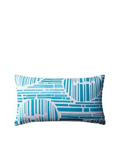 Trina Turk Trellis Lime Decorative Pillow, Turquoise, 10 x 18