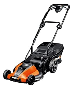 WORX WG785 17-Inch 24 Volt Cordless 3-In-1 Lawn Mower With Removable Battery (Discontinued by Manufacturer)