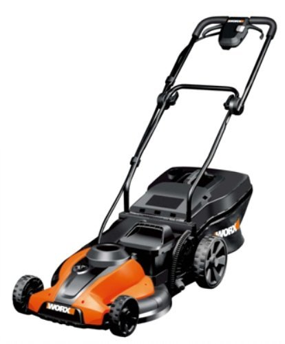 Discount WORX WG785 17-Inch 24 Volt Cordless 3-In-1 Lawn Mower With Removable Battery