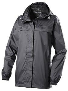 Gelert Women's Rainpod Jacket - Pure Black, Size 08