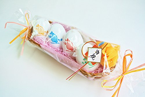 Umatama 馬油石鹸うまたま 4種類の詰め合わせギフトセット出産祝い・内祝い・結婚祝い・誕生日祝いにおススメ