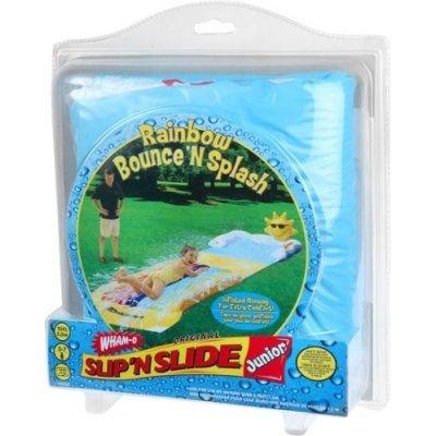 Junior Rainbow Bounce 'N Splash Slip N Slide Water Slide