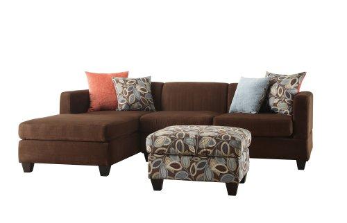 bobkona-poundex-simplistic-collection-3-piece-sectional-sofa-with-ottoman-dark-chocolate