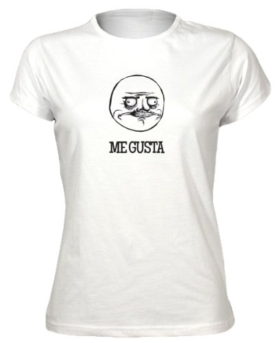 Me Gusta - Funny Internet Meme Rage Face Geeky Nerdy Womens T-Shirt