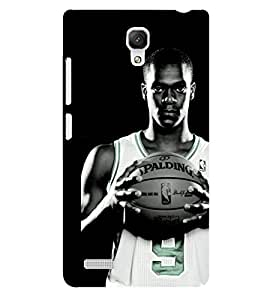 D KAUR Basketball Lovers Fans Back Case Cover for Xiaomi Redmi Note::Xiaomi Redmi Note 4G