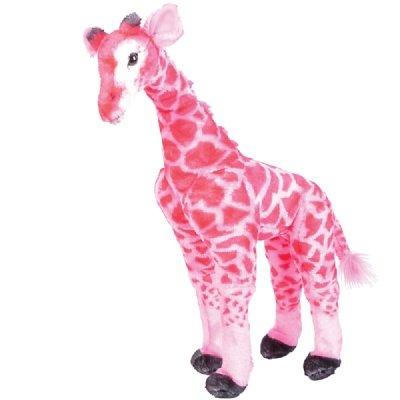 "25"" Large Standing Plush Giraffe - Pink front-236395"