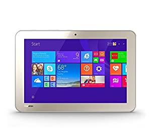 "Toshiba Encore 32GB WiFi 8"" Tablet with Intel Atom Processor - Satin Gold (Certified Refurbished)"
