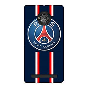 Delighted Paris Bar Back Case Cover for Yu Yuphoria