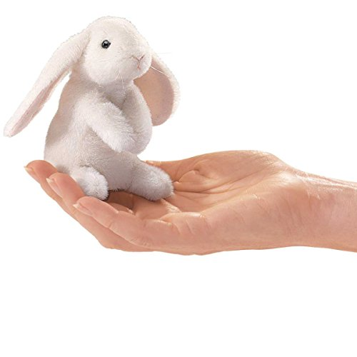 Folkmanis Mini Lop Earred Rabbit Finger Puppet