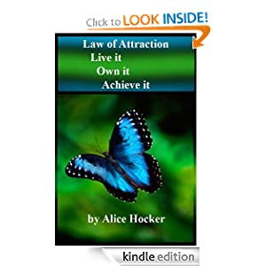 "Law of Attraction ""Live it, Own it, Achieve it"" book cover"
