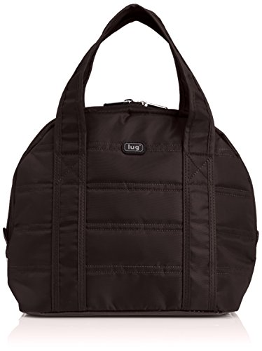 Lug Pedals Lunch Tote, Chocolate Brown - 1