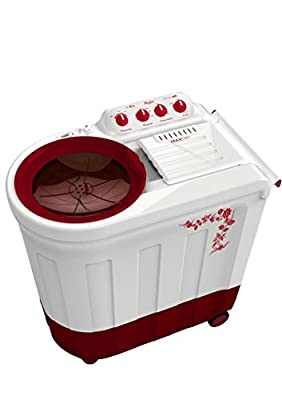 Whirlpool Ace 8.2 Stainfree Semi-automatic Top-loading Washing Machine (8.2 Kg, Flora Red)