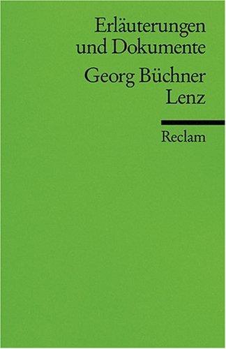 Erläuterungen und Dokumente zu Georg Büchner: Lenz
