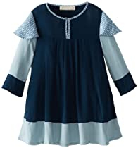 Stella McCartney Girls 2-6X Lydia, Navy, 4