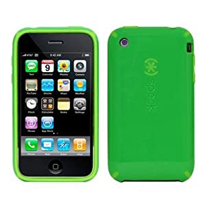 Speck Products CandyShell Case for iPhone 3G / 3GS, Green/Green