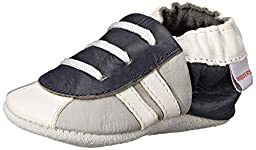 SkidDERS NWG Sneaker Bootie Slipper (Infant), Grey, 12-18 Months M US Infant