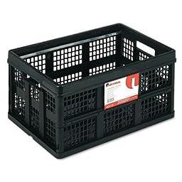 Universal - Filing/Storage Tote Storage Box Plastic 20-1/8 X 14-5/8 X 10-3/4 Black \