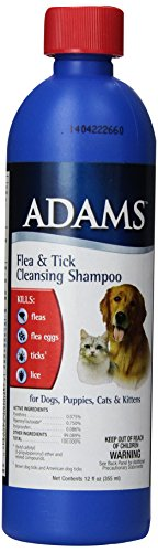 Adams Flea Cleansing Shampoo 12 Ounce Pets Bond
