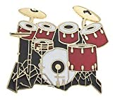 Mini Pin 7 Piece Drum Set Red