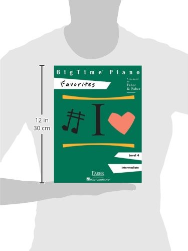 BigTime Piano, Level 4, Favorites