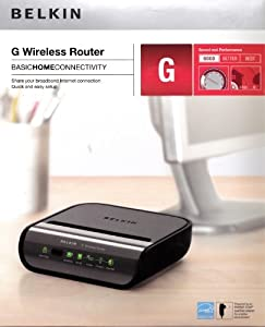 Belkin G-4 Wireless Cable/dsl Router - Wireless Networking