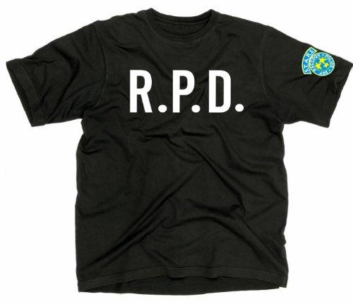 t-shirt R.P.D. RACCON POLICE DEPT. Resident Evil Game Ps 4 S M L XL XXL maglietta by tshirteria