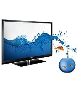 Grundig FineArts 46 FLE 9170 BL 117cm (46 Zoll) 3D LED-Backlight-Fernseher (3D, Full HD, 400 Hz PPR, DVB-T/C/S2, Wifi, 4x HDMI, USB 2.0, CI+) schwarz