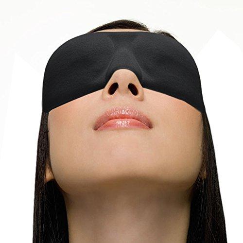 XIKEZAN Ultra Leggero 3d sonno maschera occhi maschera sagomata, Ultra Morbida Luce Blocco Eyeshades per Sleep & Viaggio Sleep, soddisfazione garantita