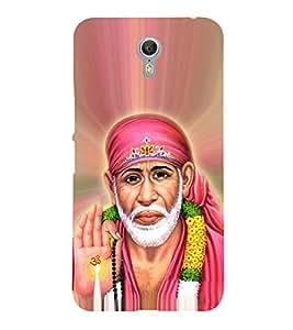 OM Shri Sai Jeevadhaaraya Cute Fashion 3D Hard Polycarbonate Designer Back Case Cover for Lenovo ZUK Z2 Pro