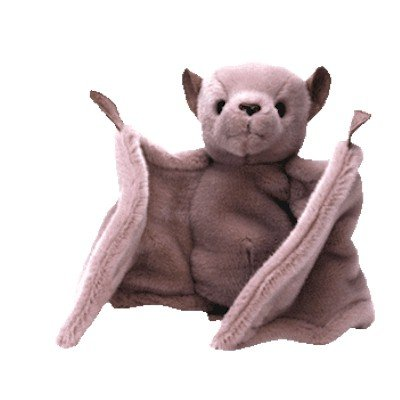 BATTY the Brown Bat - Ty Beanie Buddies - 1