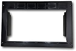 Advent PMWTRIM Trim Kit for MW912B Built-in Microwave Oven, Black. Outside Dimensions: 23.25W x 15H x 2.75D in. Inside Opening: 19W x 10.5H in. Box: 24 x 15.25 x 3.25 in.
