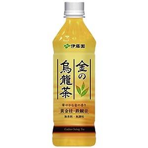 伊藤園 金の烏龍茶 500ml×24本