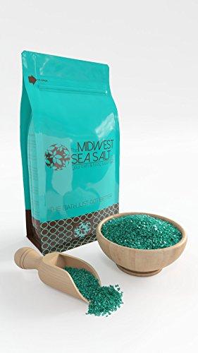 Eucalyptus & Spearmint Mediterranean Sea Bath Salt Soak - 5lb (Bulk) - Coarse Grain