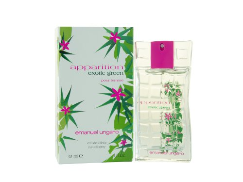 Emanuel Ungaro Apparition Exotic Green 30 ml Eau de Toilette Spray per lei no. 65361, 1er Pack (1 x 30 ml)